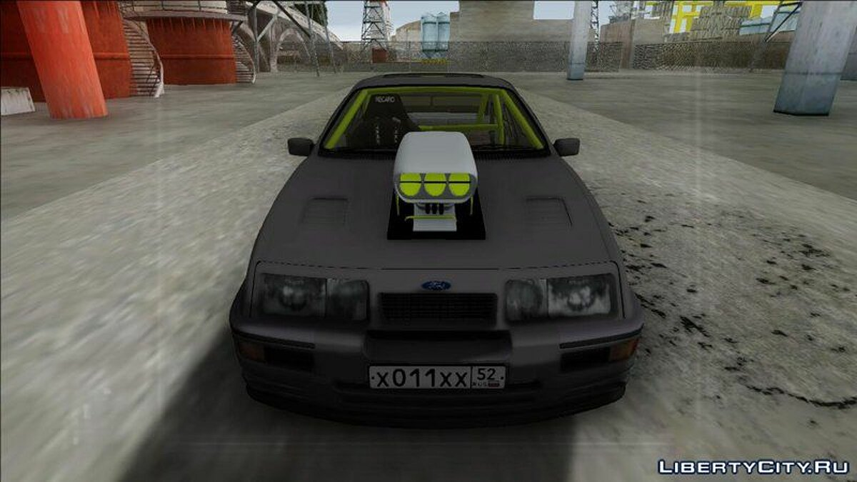 Ford Sierra RS500 Cosworth Drag для GTA San Andreas - скриншот #4