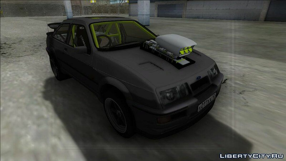 Ford Sierra RS500 Cosworth Drag для GTA San Andreas - скриншот #5