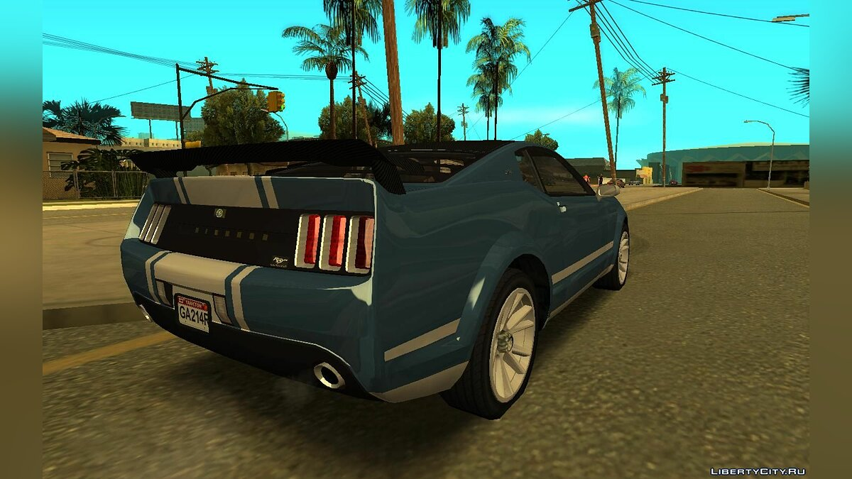 Машина Ford 2008 Ford Mustang GT Fastback 1.0 для GTA San Andreas