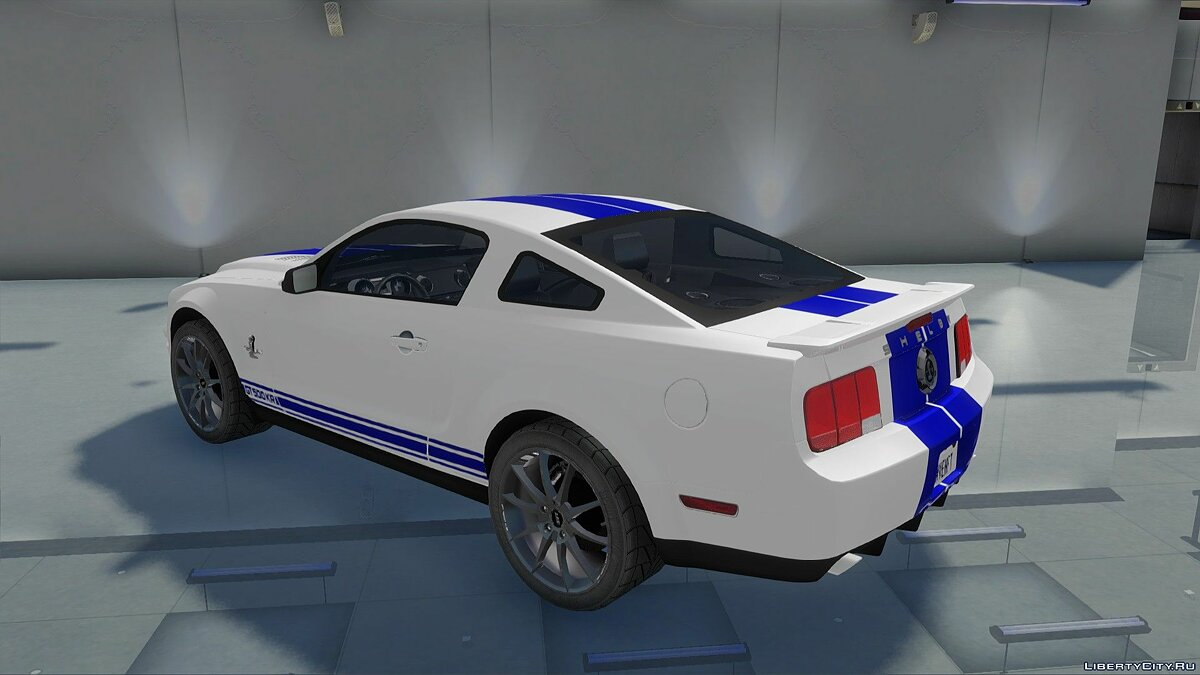 Машина Ford Ford Mustang Shelby GT500KR для GTA San Andreas