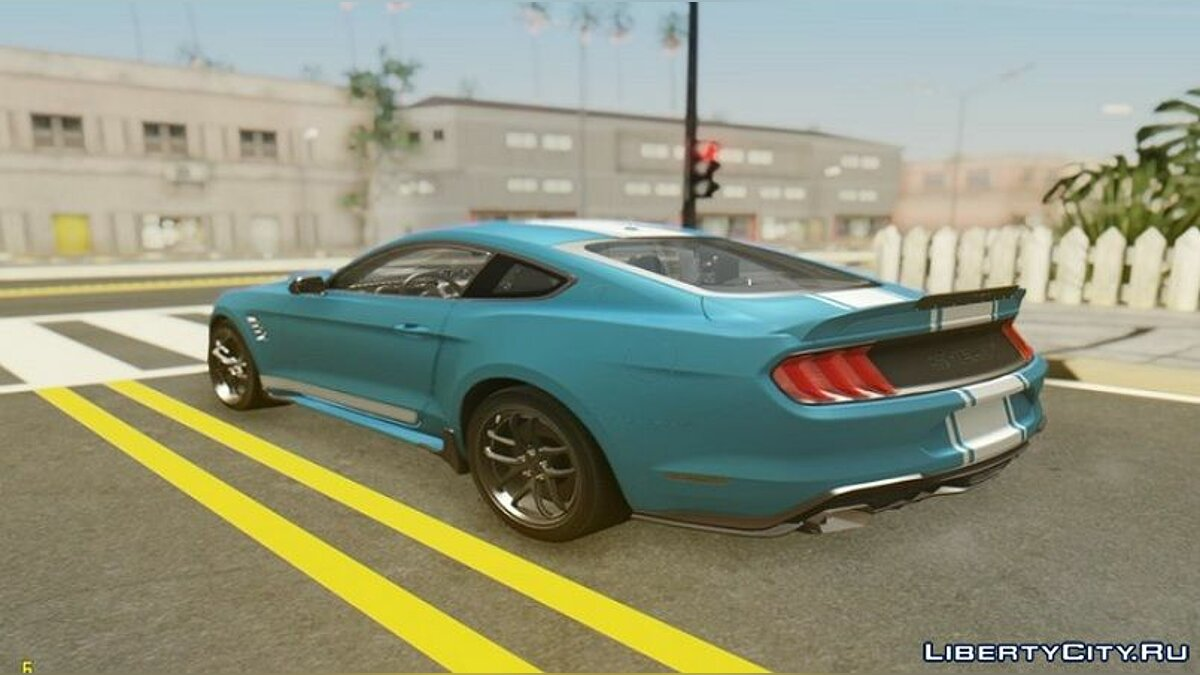 Машина Ford 2019 Ford Mustang Shelby Super Snake для GTA San Andreas