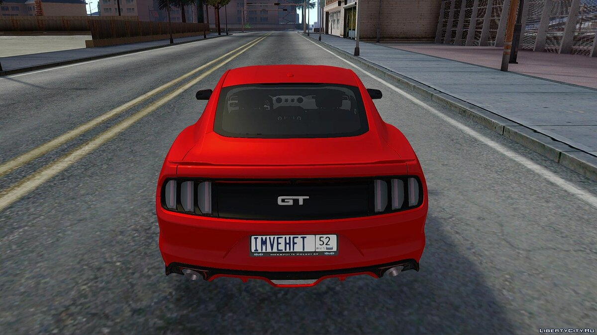 Машина Ford Ford Mustang GT 2015 для GTA San Andreas