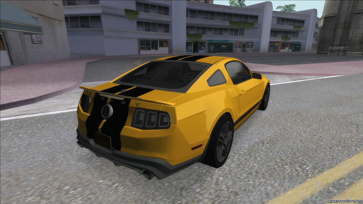 Машина Ford Ford Mustang GT500 для GTA San Andreas