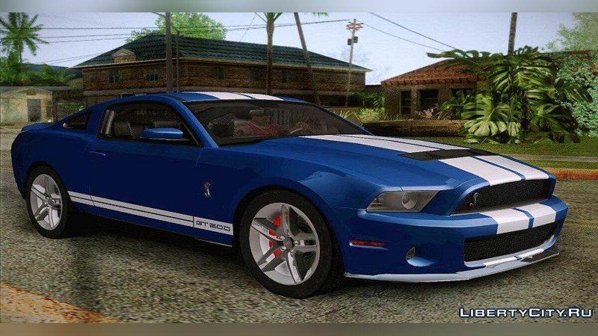 2012 Ford Shelby GT500 для GTA San Andreas