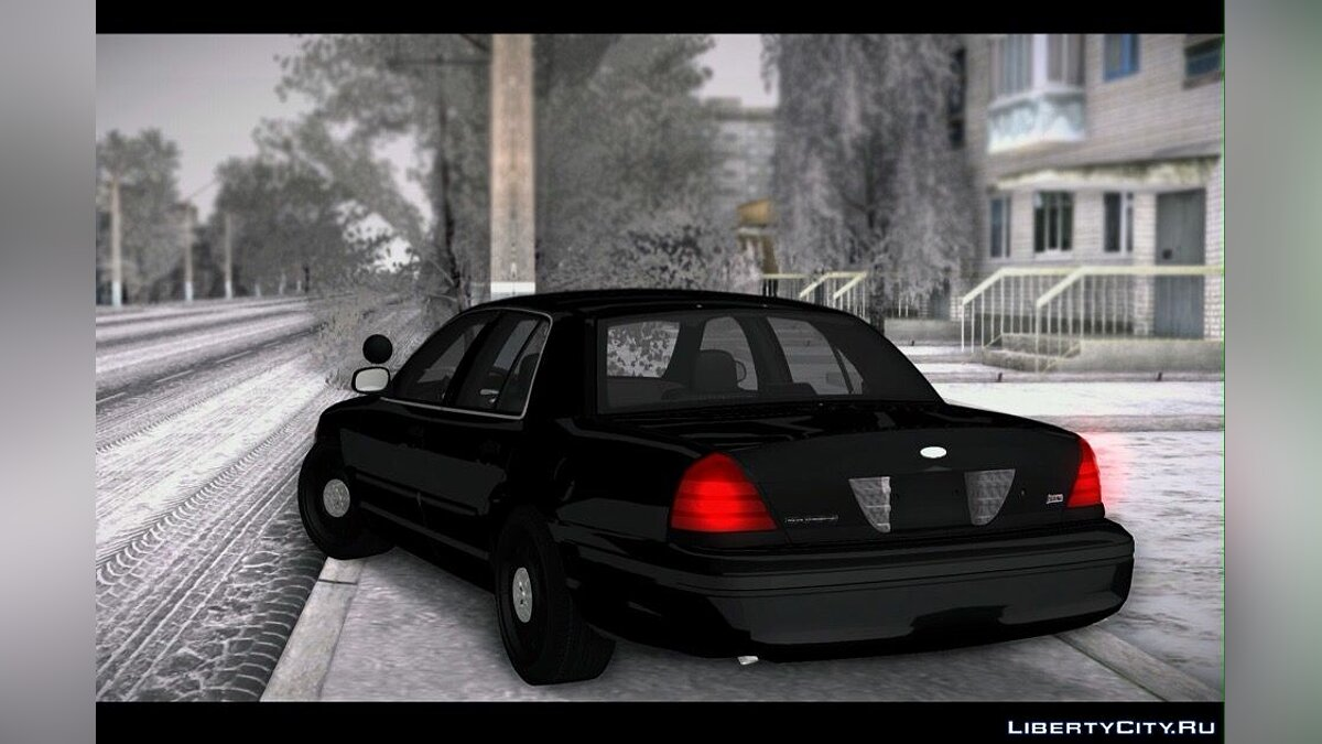 Машина Ford Ford Crown Victoria + Police для GTA San Andreas