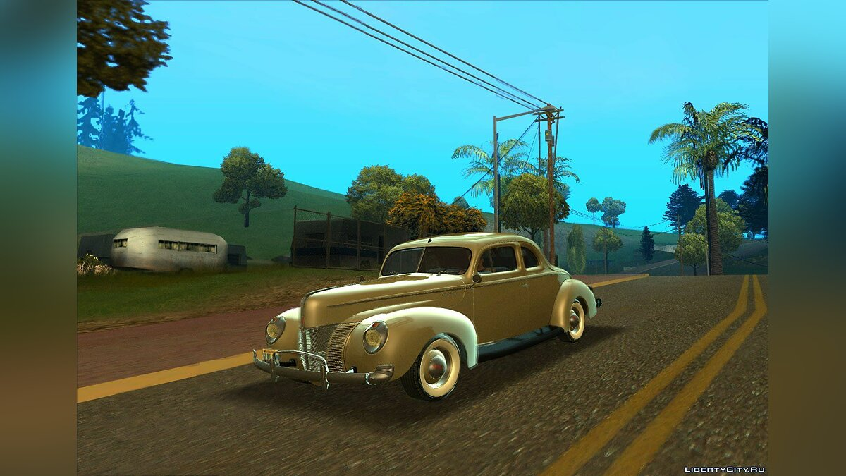 Ford Deluxe Coupe 1940 для GTA San Andreas