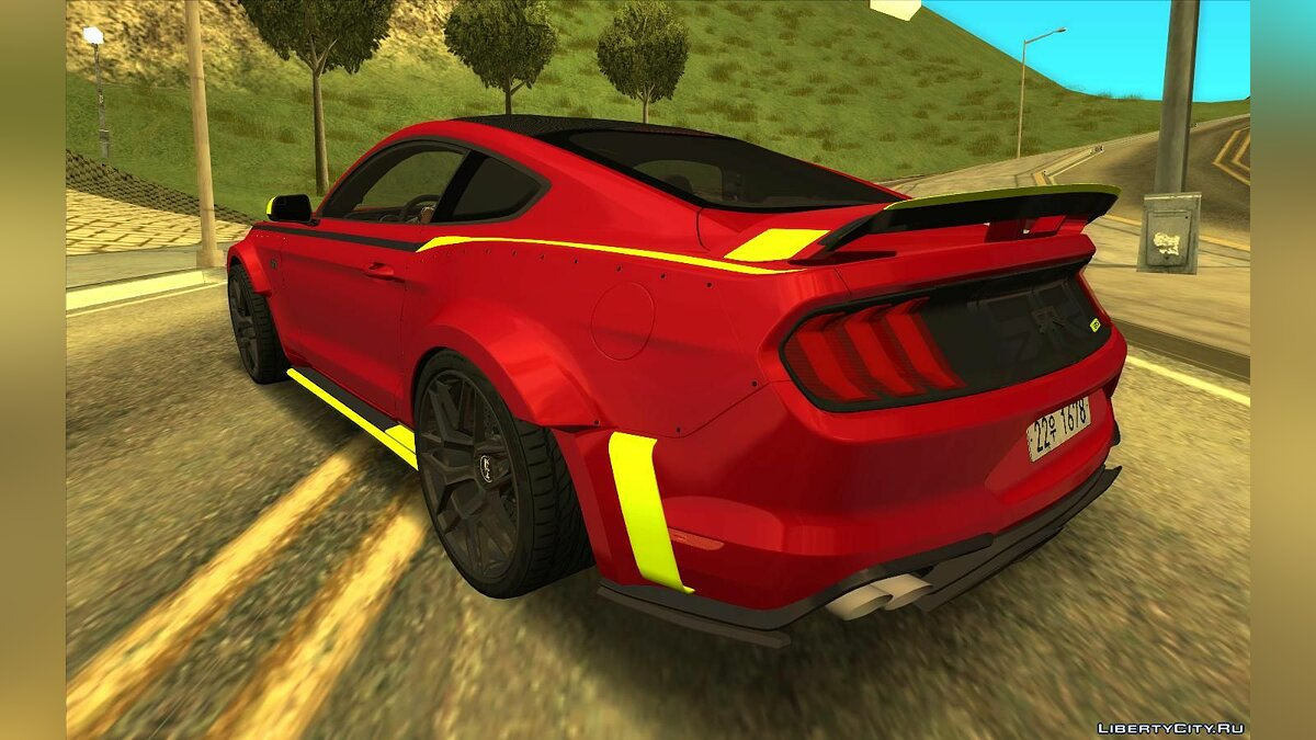 Машина Ford Ford Mustang RTR Spec 5 2021 для GTA San Andreas