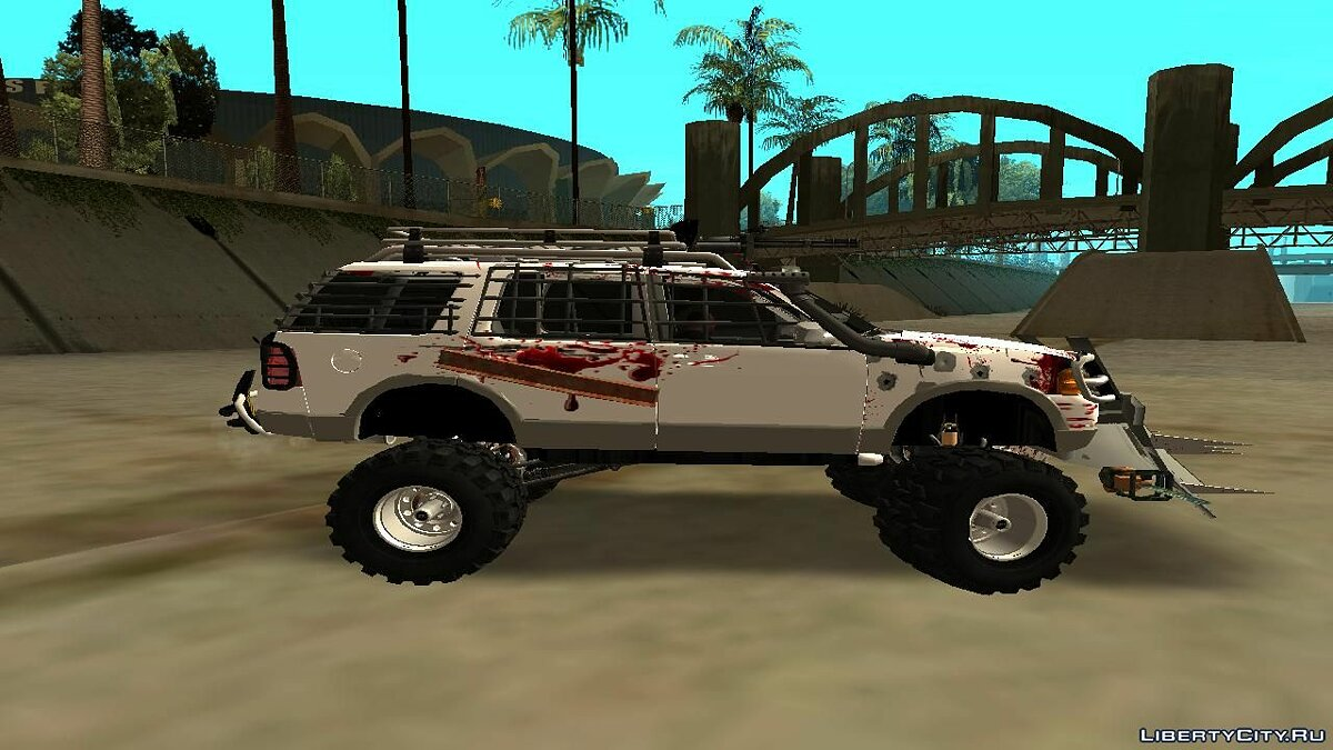 Ford Explorer Zombie Protection для GTA San Andreas - скриншот #5