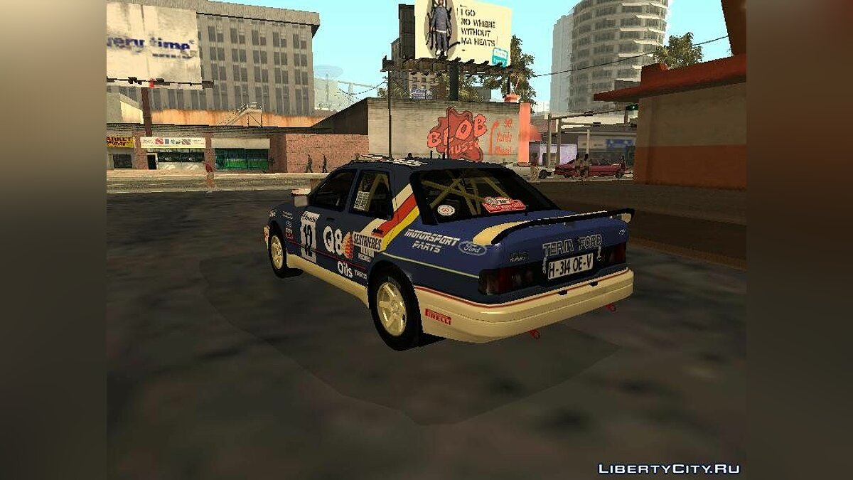Ford Sierra RS Cosworth Rally для GTA San Andreas