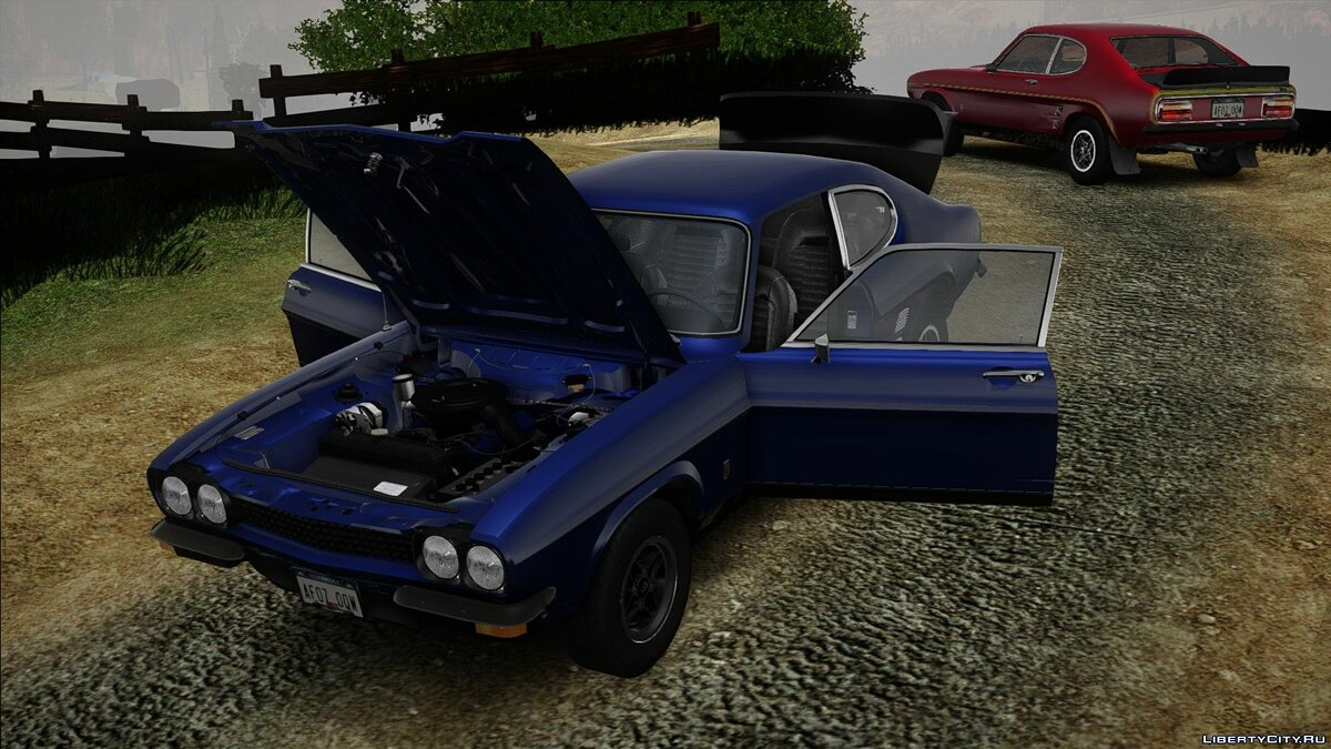 Машина Ford Ford Capri RS3100 1973 для GTA San Andreas