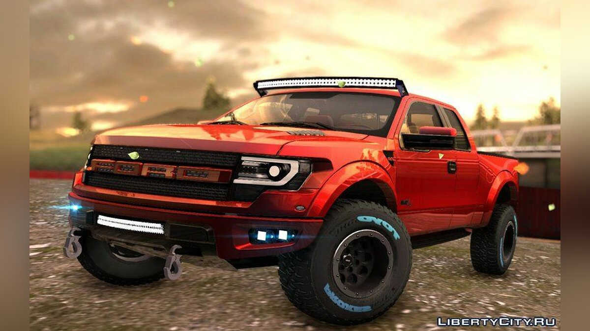 Ford Raptor 2014 GTA Garage Custom для GTA San Andreas