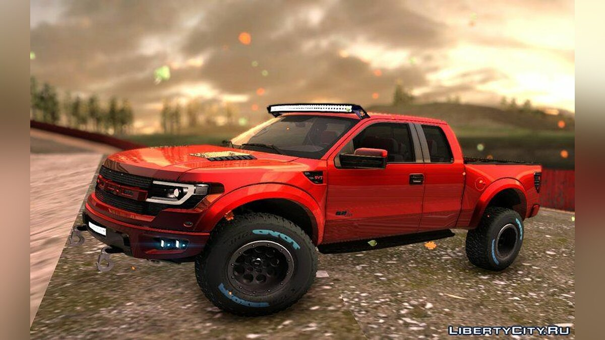 Ford Raptor 2014 GTA Garage Custom для GTA San Andreas - скриншот #2