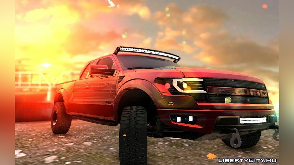 Ford Raptor 2014 GTA Garage Custom для GTA San Andreas - скриншот #3