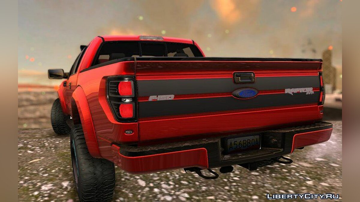 Ford Raptor 2014 GTA Garage Custom для GTA San Andreas - скриншот #4