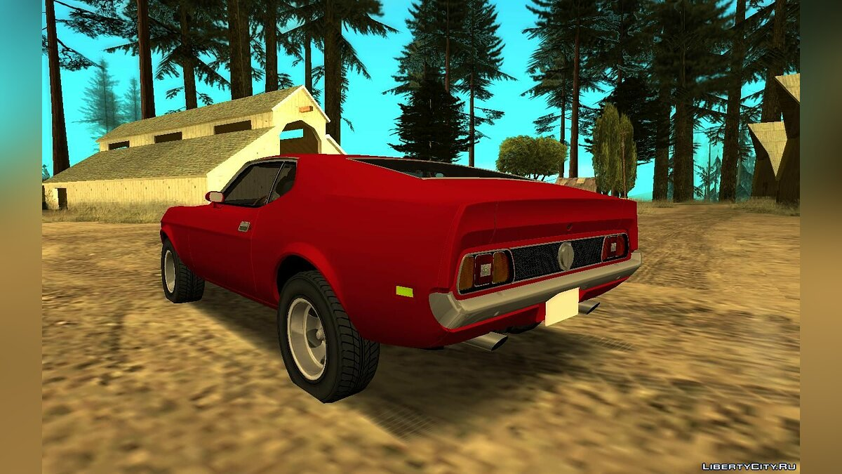 Машина Ford 1971 Ford Mustang для GTA San Andreas