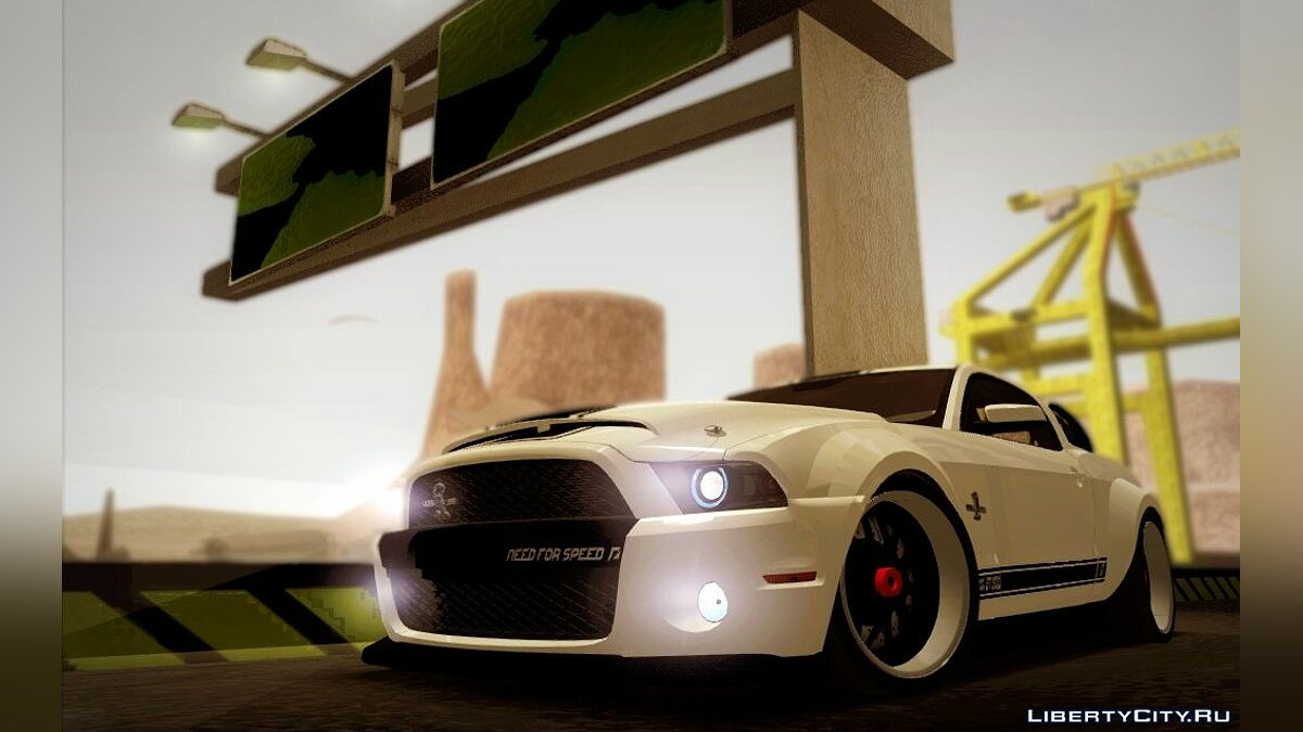 Shelby GT500 SuperSnake NFS The RUN Edition для GTA San Andreas - Картинка #1