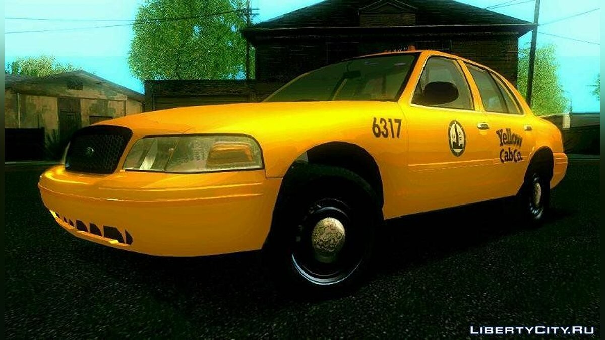 Ford Crown Victoria 2003 Taxi для GTA San Andreas