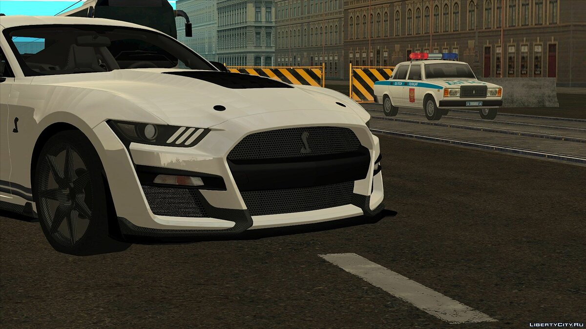 Машина Ford Ford Mustang Shelby GT500 2020 для GTA San Andreas