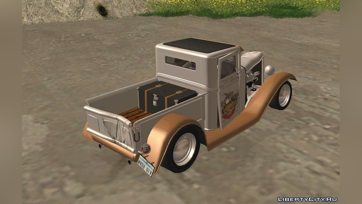 Машина Ford 1932 Ford Pickup Farmtruck для GTA San Andreas