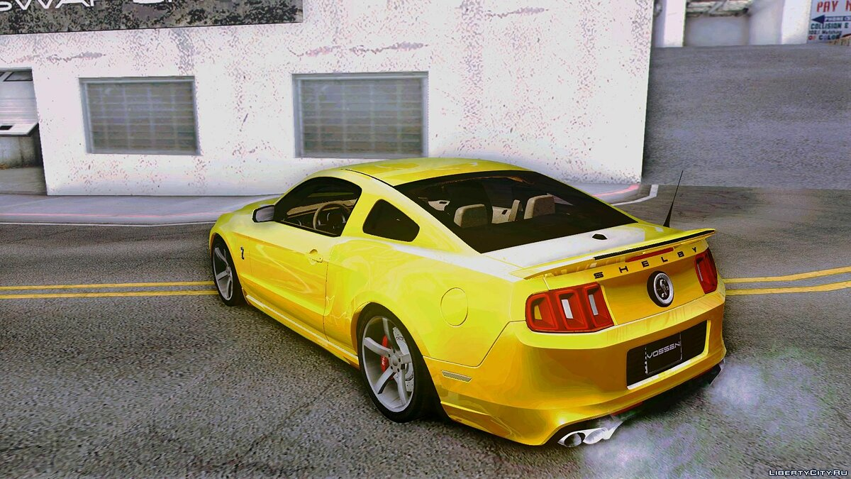 2013 Ford Shelby GT500 Vossen version для GTA San Andreas - скриншот #2
