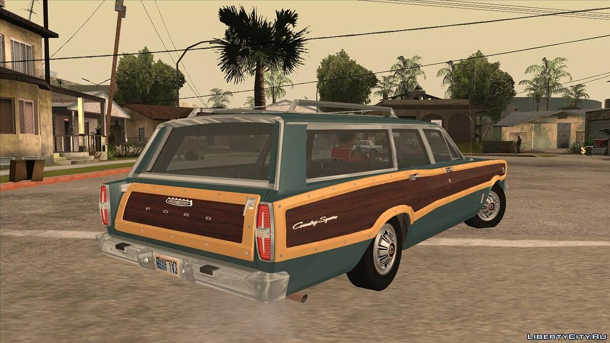 Машина Ford Ford Country Squire 1966 для GTA San Andreas