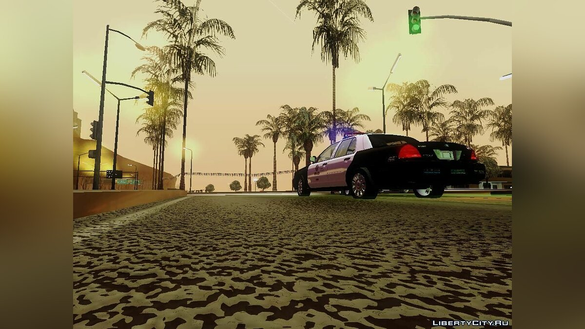 Ford Crown Victoria LAPD Interceptor для GTA San Andreas - скриншот #3