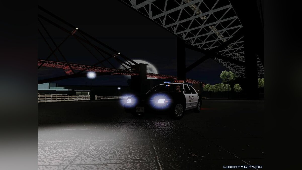 Ford Crown Victoria LAPD Interceptor для GTA San Andreas - скриншот #4
