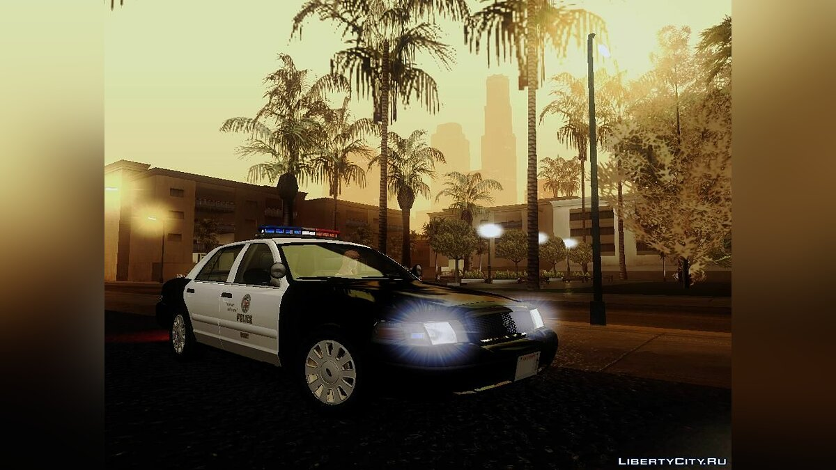 Ford Crown Victoria LAPD Interceptor для GTA San Andreas