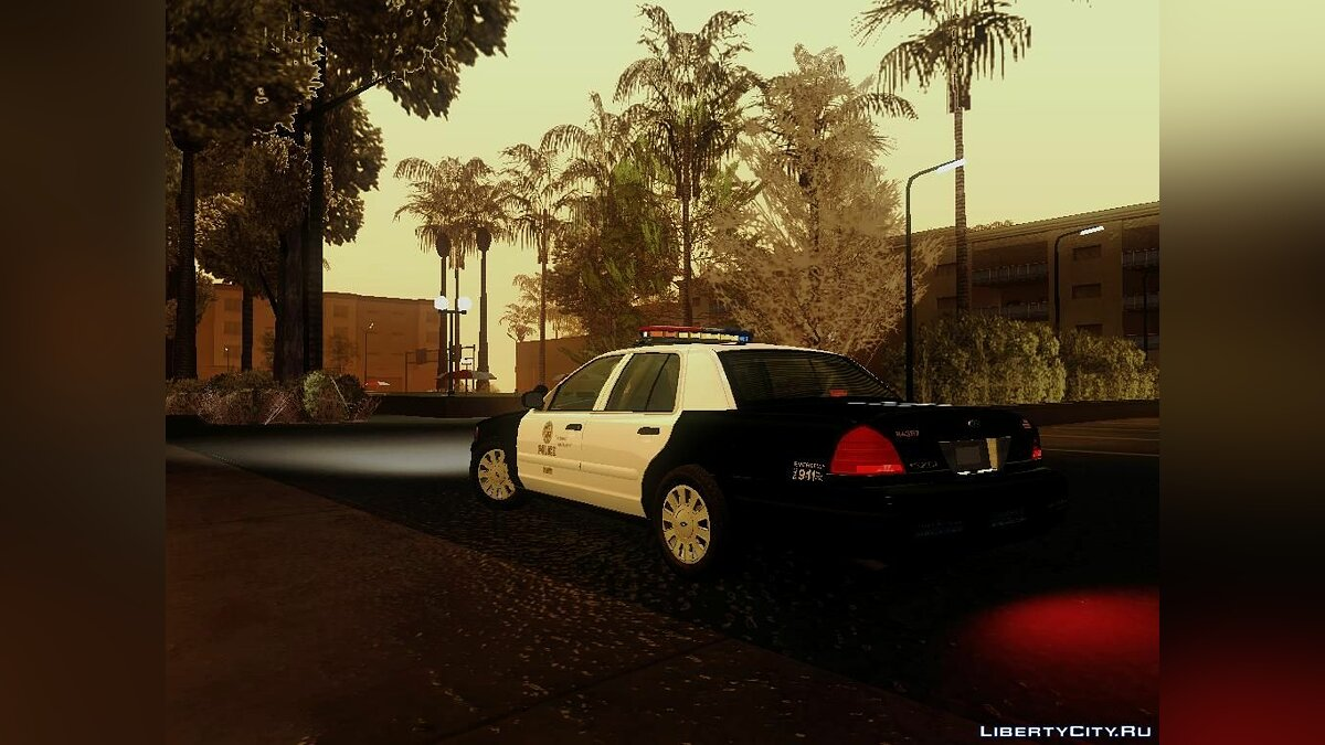Ford Crown Victoria LAPD Interceptor для GTA San Andreas - скриншот #8