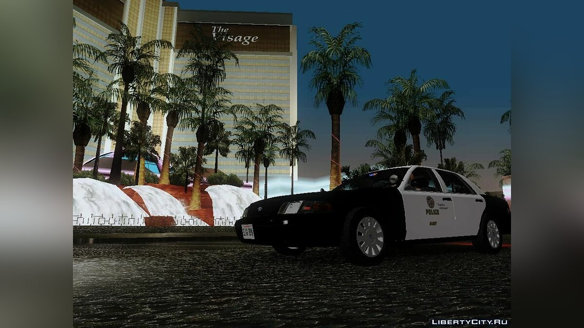 Ford Crown Victoria LAPD Interceptor для GTA San Andreas - скриншот #9