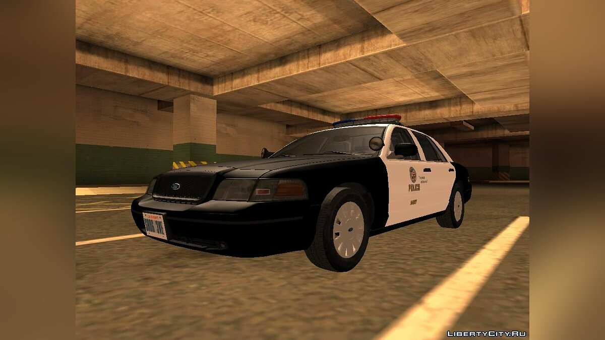 Ford Crown Victoria LAPD Interceptor для GTA San Andreas - скриншот #10