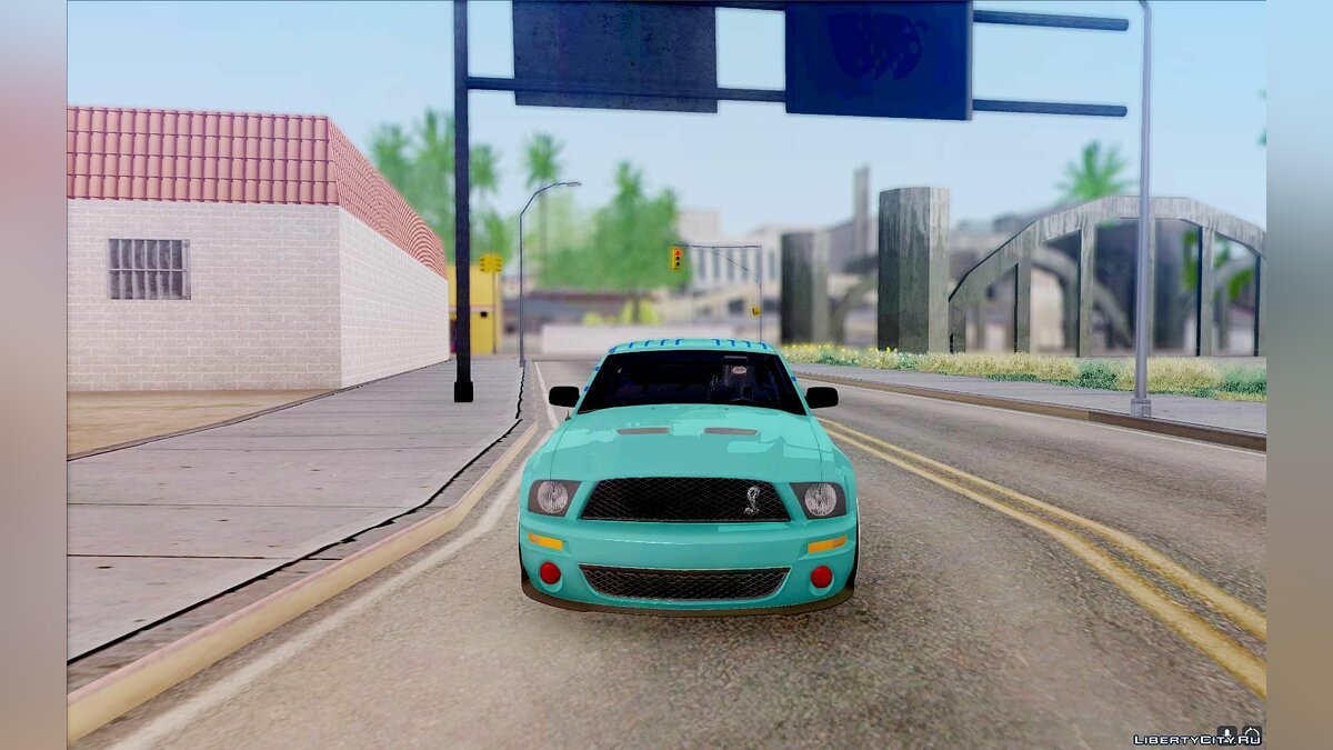 ��ашина Ford Ford Shelby GT500 Falken Tire Justin Pawlak 2012 для GTA San Andreas