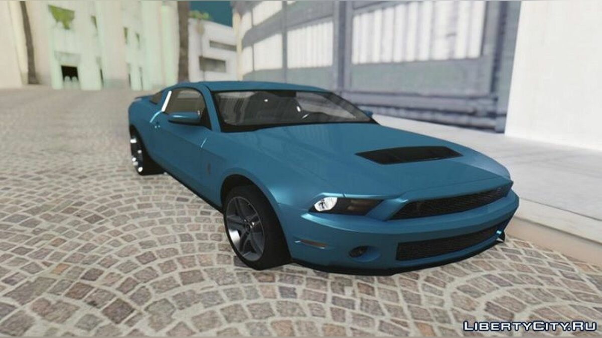 Машина Ford 2010 Ford Shelby GT500 для GTA San Andreas