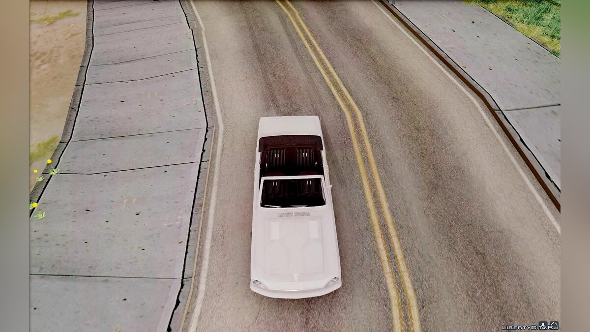 ��ашина Ford Shelby GT500KR convertible 1968 для GTA San Andreas
