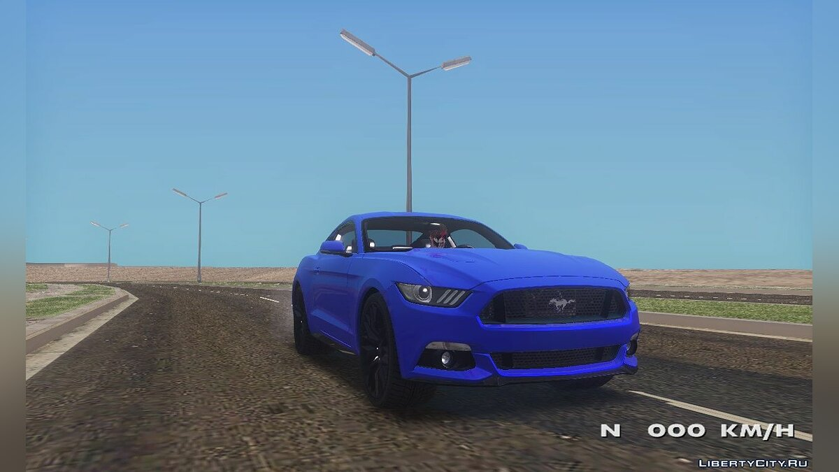 ��ашина Ford Ford Mustang GT для GTA San Andreas