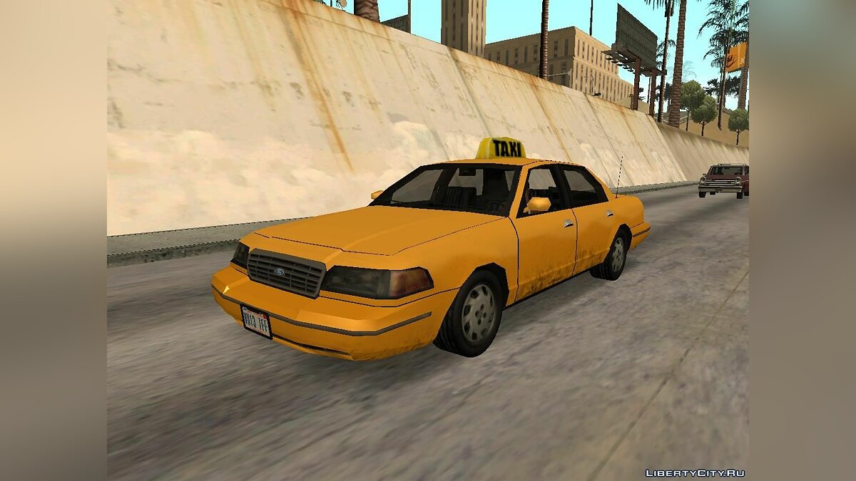 Ford Crown Victoria Low Poly для GTA San Andreas