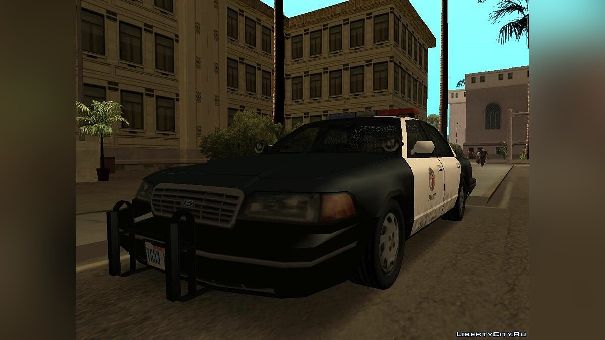Ford Crown Victoria Low Poly для GTA San Andreas - скриншот #3