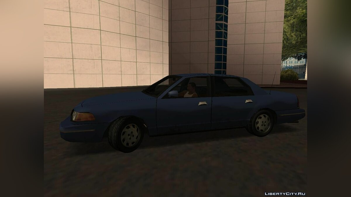 Ford Crown Victoria Low Poly для GTA San Andreas - скриншот #5