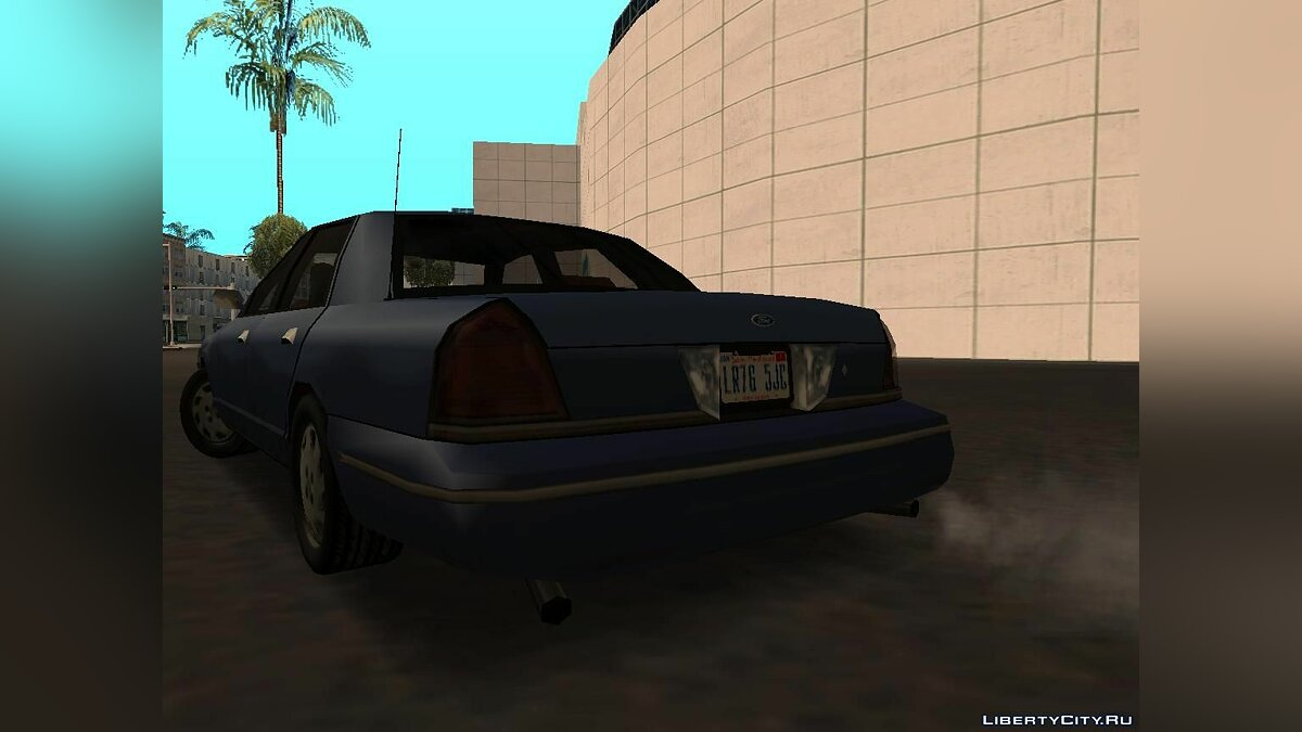 Ford Crown Victoria Low Poly для GTA San Andreas - скриншот #8
