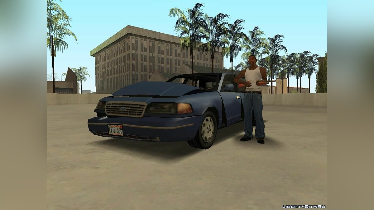 Ford Crown Victoria Low Poly для GTA San Andreas - скриншот #9