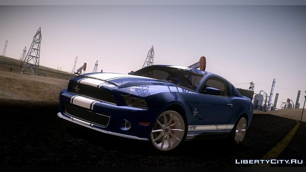 Ford Shelby GT500 [3 in 1 Pack] 2011 для GTA San Andreas - скриншот #2
