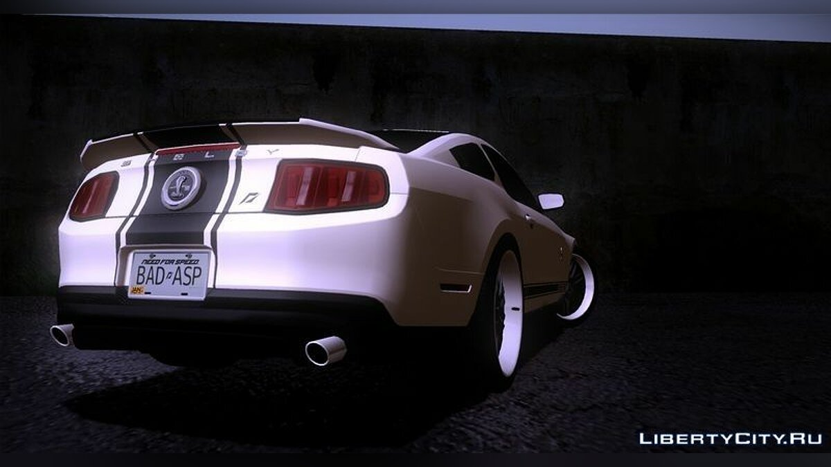 Ford Shelby GT500 [3 in 1 Pack] 2011 для GTA San Andreas - скриншот #4