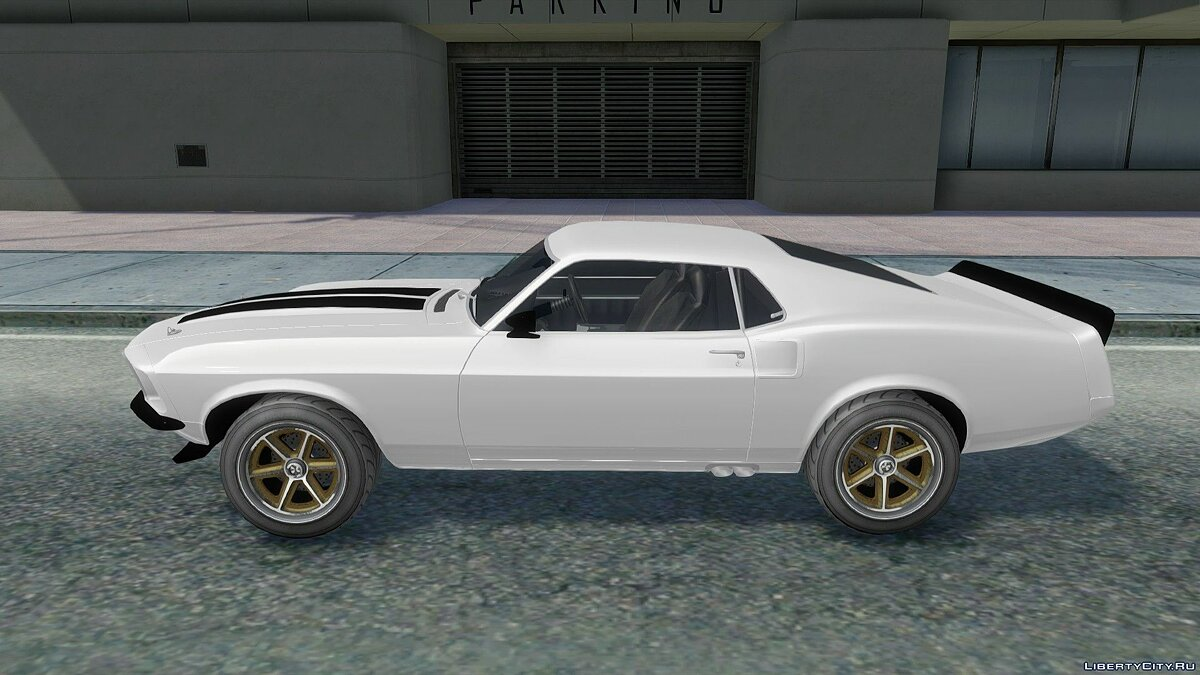 Машина Ford 1969 Ford Mustang Fastback FF6 для GTA San Andreas
