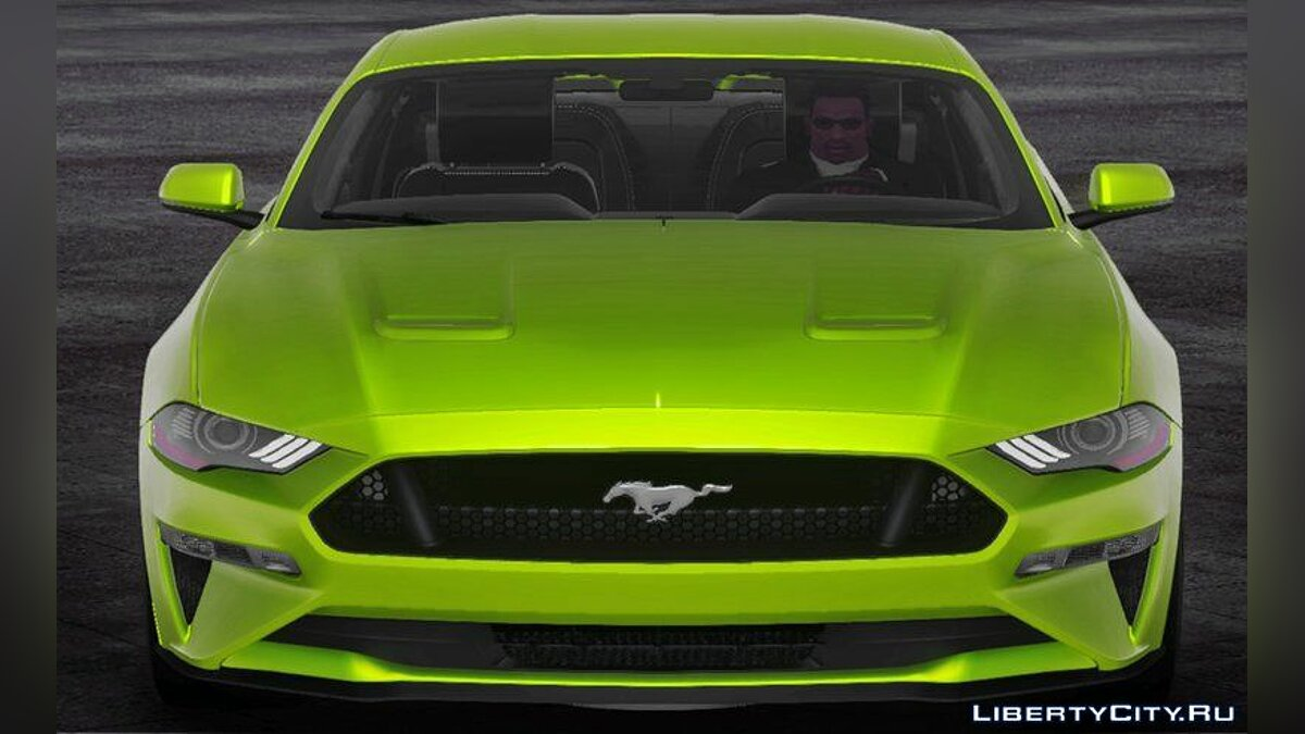 Машина Ford 2018 Ford Mustang GT для GTA San Andreas