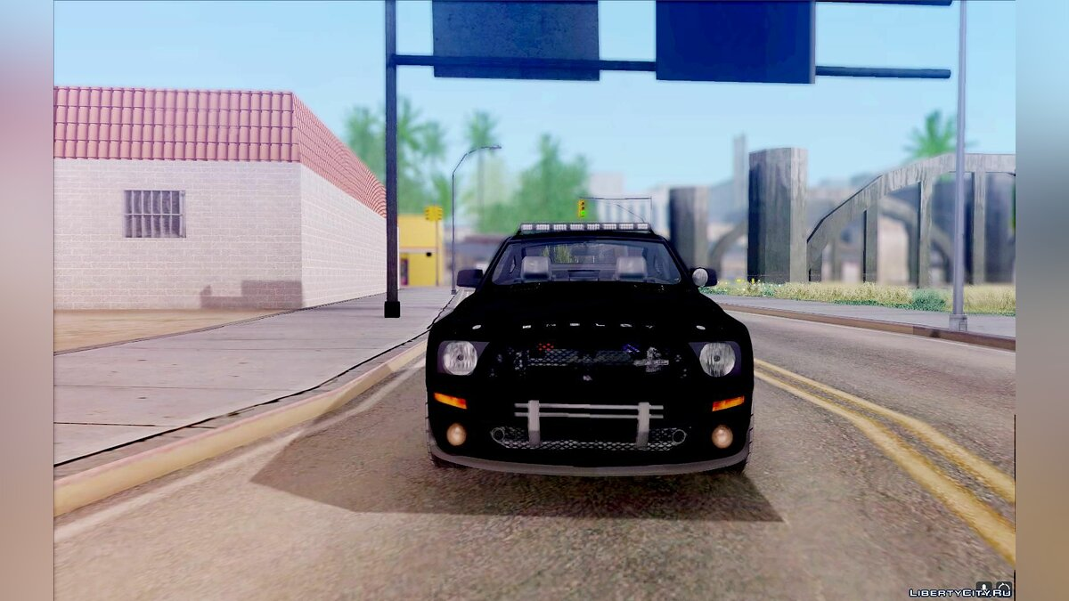 ��ашина Ford Shelby GT500KR Edition POLICE для GTA San Andreas