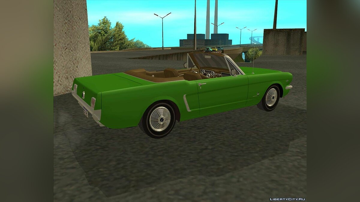 ��ашина Ford Ford Mustang 289 1964 для GTA San Andreas