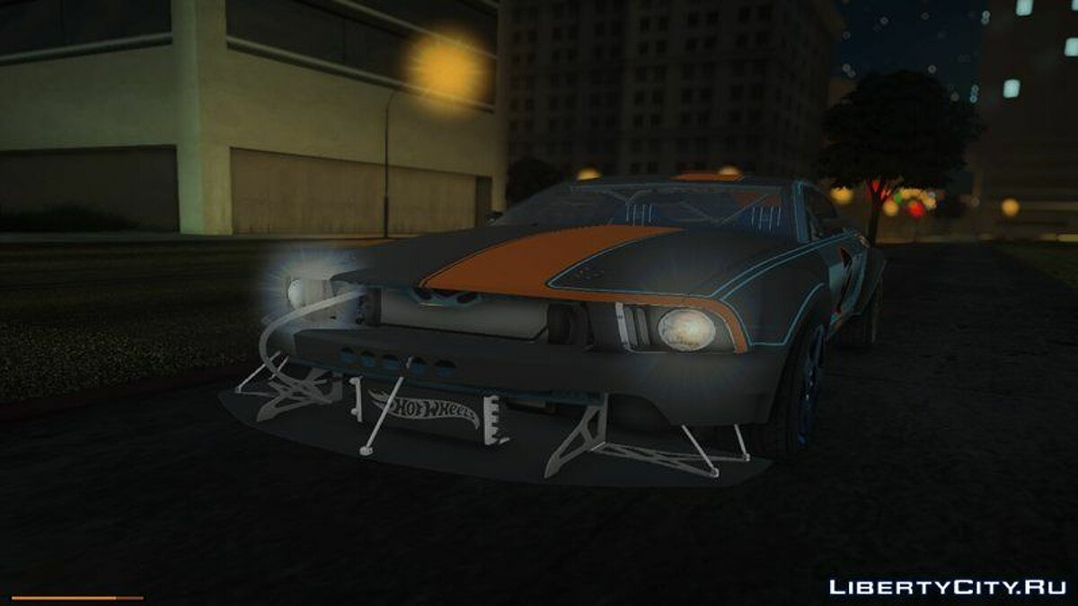 Машина Ford 2005 Ford Mustang Hot Wheels для GTA San Andreas