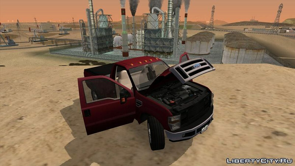 2008 Ford F-350 Super Duty Regular Cab для GTA San Andreas - скриншот #2