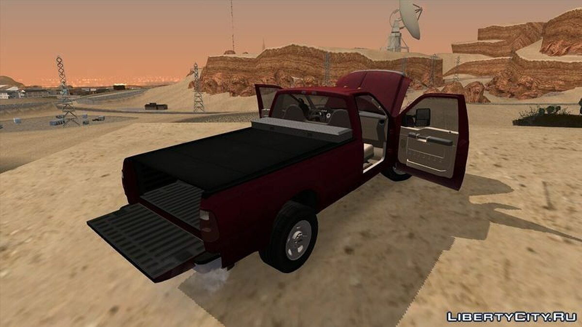 2008 Ford F-350 Super Duty Regular Cab для GTA San Andreas - скриншот #3