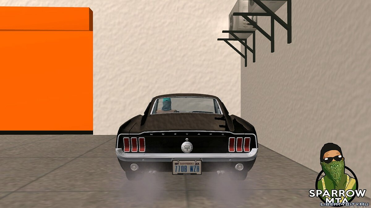 Машина Ford Ford Mustang GT Fastback 390 1968 для GTA San Andreas